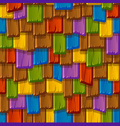 Seamless texture a beaten old multi-colored vector