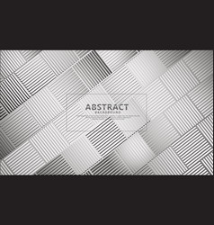 Abstract lines on rectangular shape background vector