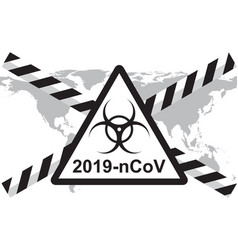 Concept 2019-ncov coronavirus vector
