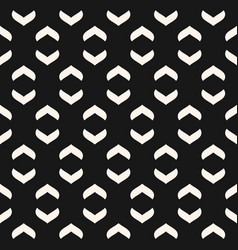 geometric seamless pattern curved arch shapes vector image