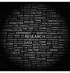 RESEARCH vector image