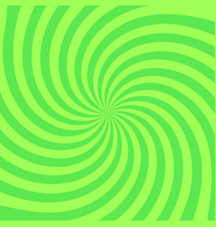 retro radial background stylish green colored vector image