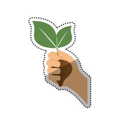 go green ecology vector image vector image