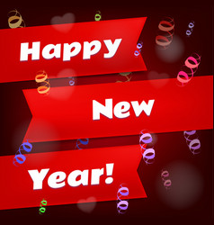 happy new year background calendar template vector image vector image