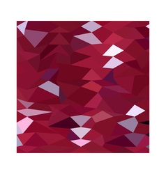 Carmine Red Abstract Low Polygon Background vector
