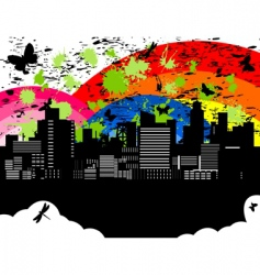 city5 vector image