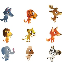 Collections of baby animals vector image