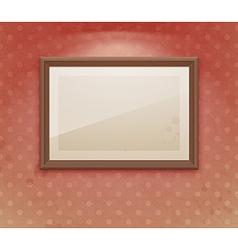 exhibition vintage dot vector image vector image