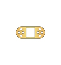 Game Console computer symbol vector image