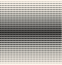 geometric halftone seamless hipster pattern vector image