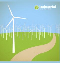 renewable energy concept vector image