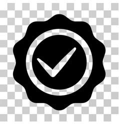 valid seal icon vector image