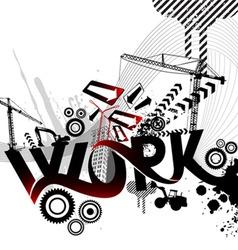 Work logo vector