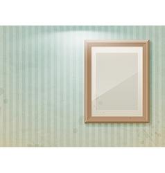 exhibition vintage stripe vector image vector image