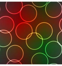 lighting rings vector image vector image