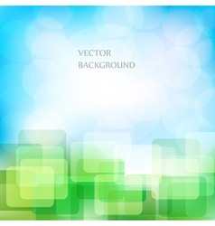 Natural eco background vector image