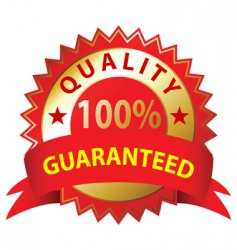 quality guaranteed vector image vector image
