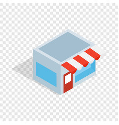 shop isometric icon vector image vector image