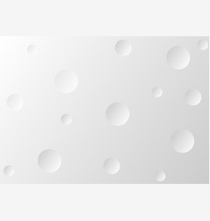 abstract gray background with circle paper style vector image