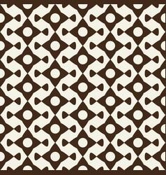 abstract modern monochrome geometric ornament vector image