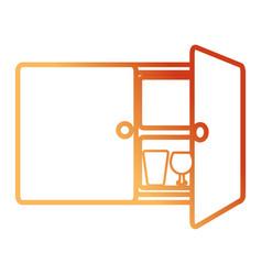 cupboar vector image