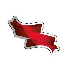 Decorative banner emblem vector
