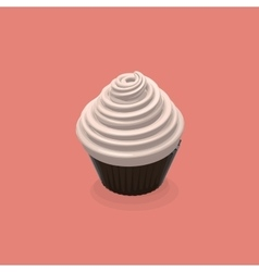 Food Of Cupcake vector image