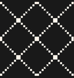 Geometric ornament pattern with squares vector