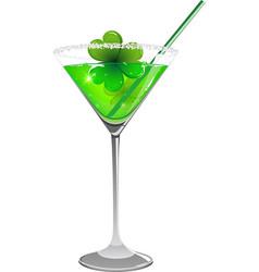 Leprechaun drink vector