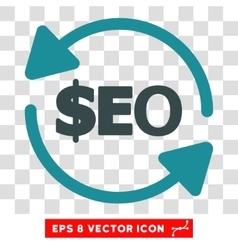 Refresh Seo Icon vector