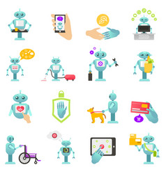 Robot advisor of finance housework medicine vector