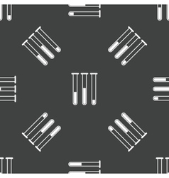 Test-tubes pattern vector image