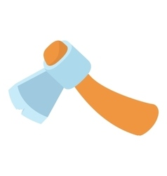 Axe icon isometric 3d style vector image