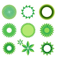 leaf Art Green Concept vector image vector image