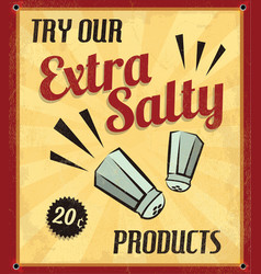 Set of Retro Vintage Tin Signs with Grunge Effect vector image vector image