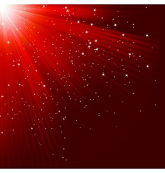 Great christmas texture with shining stars EPS 10 vector image vector image