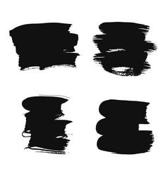 smear set vector image vector image