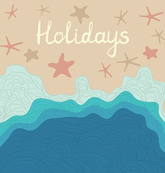 Beachholidays vector