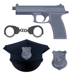 enforcement agencies conceptual vector image
