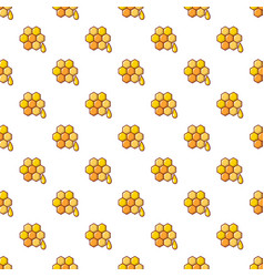Honey comb pattern seamless vector