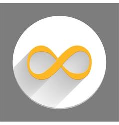 Infinity Symbol Icon vector image