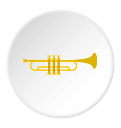 Music tube icon circle vector