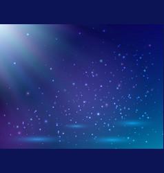 blue magic light background magic background vector image