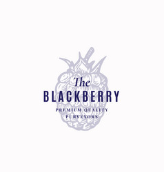 blackberry abstract sign symbol or vector image