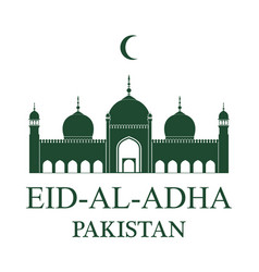 eid al adha pakistan vector image