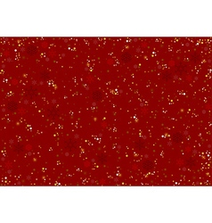Red Christmas Pattern vector image