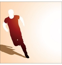 Runing man vector