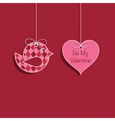 Valentine decoration vector