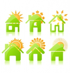 house icon3 vector image vector image