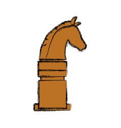 horse riding equestrian sport vector image vector image